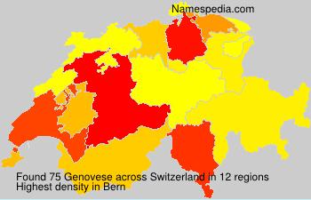 Familiennamen Genovese - Switzerland