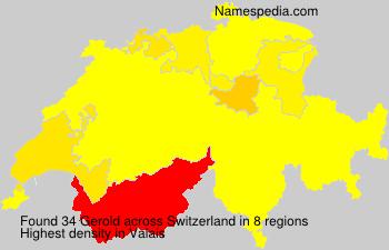 Familiennamen Gerold - Switzerland