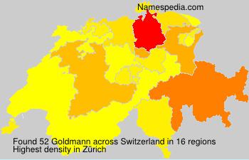 Familiennamen Goldmann - Switzerland