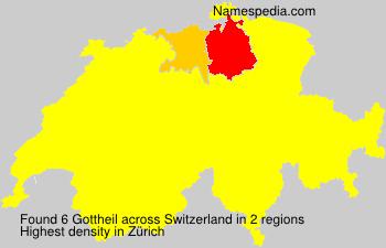 Surname Gottheil in Switzerland