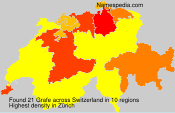 Surname Grafe in Switzerland