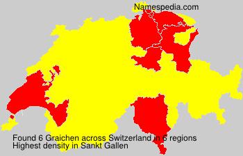 Surname Graichen in Switzerland
