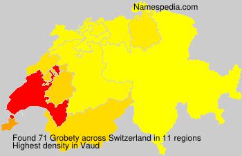 Familiennamen Grobety - Switzerland