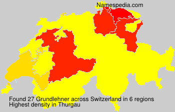 Surname Grundlehner in Switzerland