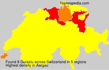 Familiennamen Guraziu - Switzerland
