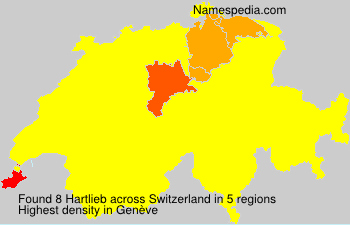 Surname Hartlieb in Switzerland