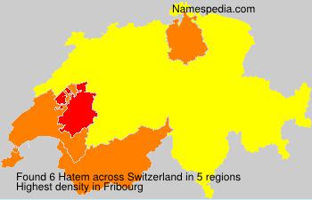 Surname Hatem in Switzerland