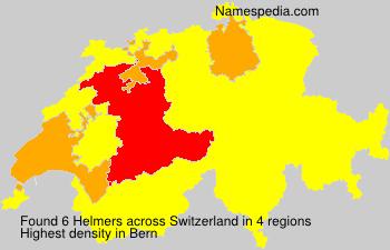 Surname Helmers in Switzerland