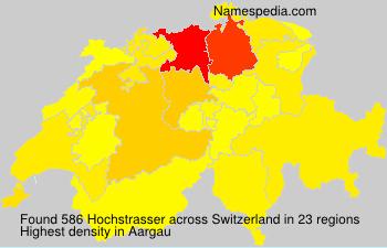Familiennamen Hochstrasser - Switzerland
