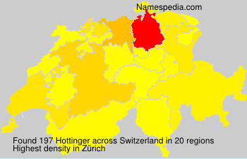 Familiennamen Hottinger - Switzerland