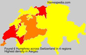 Familiennamen Humphrey - Switzerland