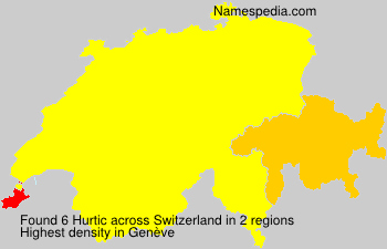 Surname Hurtic in Switzerland