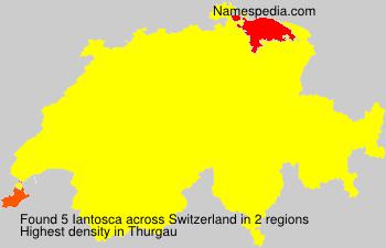 Surname Iantosca in Switzerland