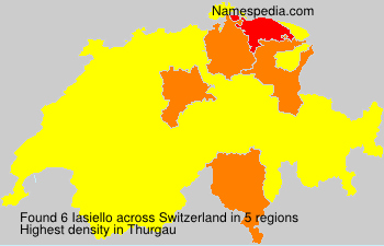 Surname Iasiello in Switzerland