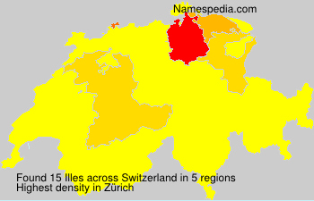 Familiennamen Illes - Switzerland