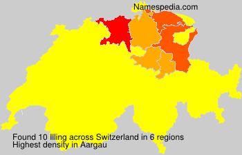 Familiennamen Illing - Switzerland