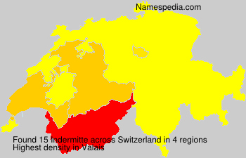 Surname Indermitte in Switzerland