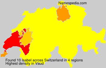 Familiennamen Isabel - Switzerland
