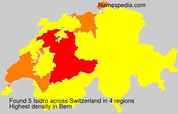 Surname Isidro in Switzerland