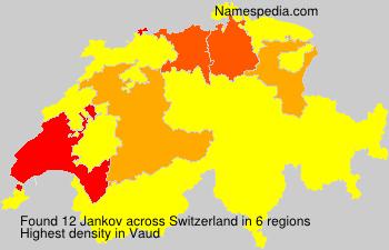 Familiennamen Jankov - Switzerland