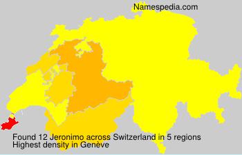Jeronimo - Switzerland