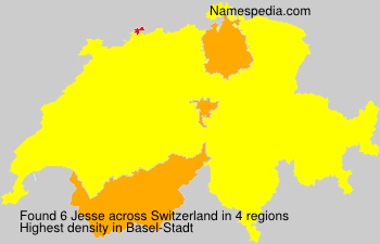 Surname Jesse in Switzerland