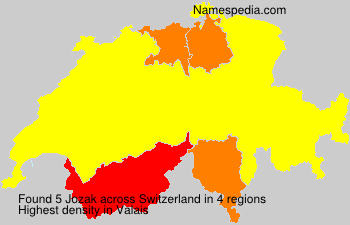Surname Jozak in Switzerland