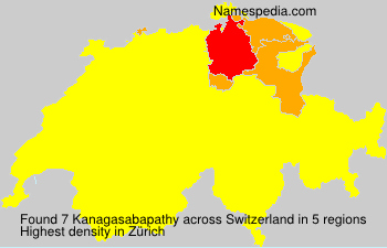 Surname Kanagasabapathy in Switzerland