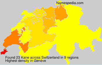 Kane - Switzerland
