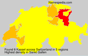 Surname Kassel in Switzerland