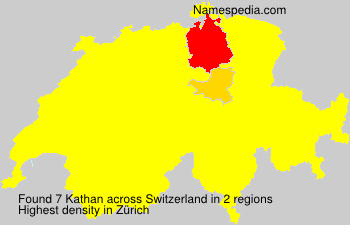 Surname Kathan in Switzerland