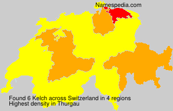 Surname Kelch in Switzerland