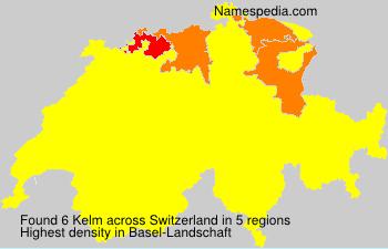 Surname Kelm in Switzerland