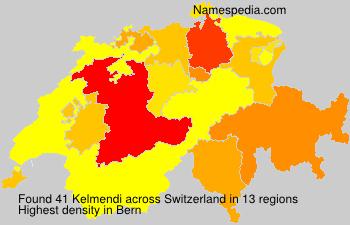 Familiennamen Kelmendi - Switzerland