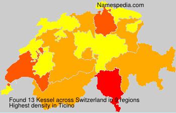 Surname Kessel in Switzerland
