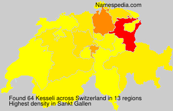 Surname Kesseli in Switzerland
