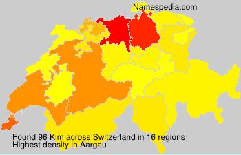 Familiennamen Kim - Switzerland