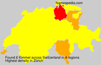 Surname Kimmel in Switzerland