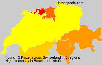 Surname Kinzel in Switzerland
