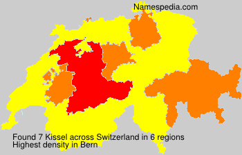 Surname Kissel in Switzerland