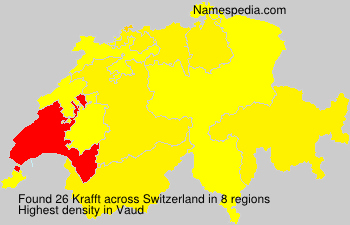 Surname Krafft in Switzerland