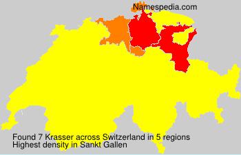Surname Krasser in Switzerland