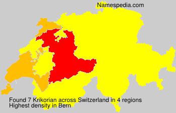Krikorian - Switzerland