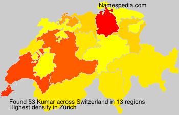 Surname Kumar in Switzerland