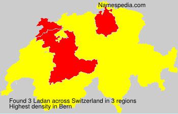 Familiennamen Ladan - Switzerland