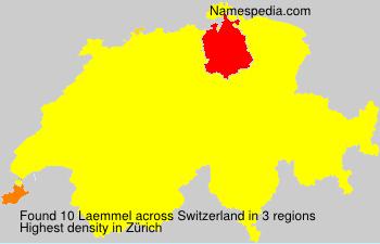 Familiennamen Laemmel - Switzerland