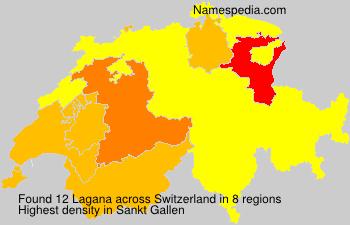 Surname Lagana in Switzerland