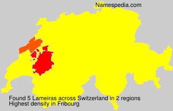 Surname Lameiras in Switzerland