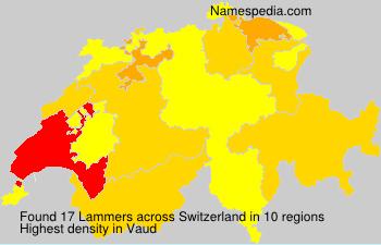 Surname Lammers in Switzerland