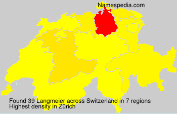 Surname Langmeier in Switzerland
